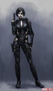 Domino-Marvel-фэндомы-X-MEN-748938
